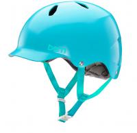 bern キッズサイクルヘルメット/ BANDITA -SATIN LIGHT BLUE(国内正規品)