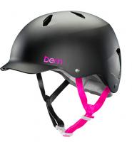 bern キッズサイクルヘルメット/ BANDITA -SATIN BLACK(国内正規品)