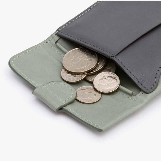 【新入荷!】Bellroy ベルロイ/ Coin Fold Wallet-Eucalyptus  小銭+紙幣+カードすべてに素早くアプローチ