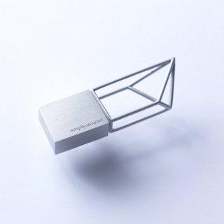 Beyond Object /ビヨンドオブジェクト<br>USBメモリー Empty Memory 16GB<br> Structure- <br>ステンレスシルバー