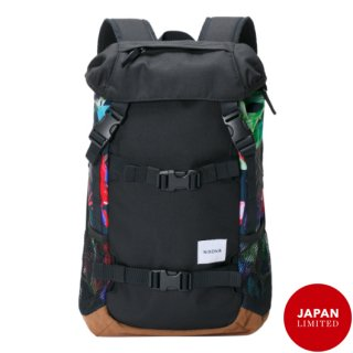 NIXON / SMALL LANDLOCK BACKPACK-Black/ Paradise<br>女性でも使いやすいサイズ感のニクソン日本限定バックパック<img class='new_mark_img2' src='https://img.shop-pro.jp/img/new/icons50.gif' style='border:none;display:inline;margin:0px;padding:0px;width:auto;' />