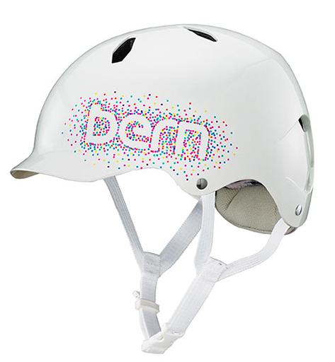 bern キッズサイクルヘルメット/ BANDITA -GL WHITE CONFETTI LOGO(国内正規品)