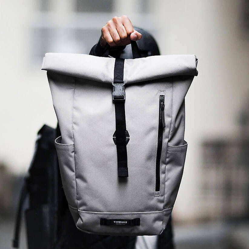 TIMBUK2/ Tuck Pack タックパックConcrete 日常便利なロールトップバックパック