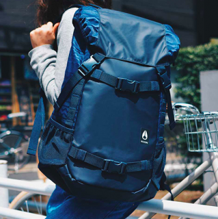 <img class='new_mark_img1' src='//img.shop-pro.jp/img/new/icons3.gif' style='border:none;display:inline;margin:0px;padding:0px;width:auto;' />NIXON / LANDLOCK III BACKPACK-NAVY/MIX<br>ニクソンの顔とも言うべき<br>大人気バックパック2017AW