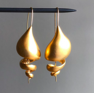 Ted Muehling <br>テッドミューリング/<br> 24K GOLD  Snail Shells<br>NY発。自然の美をとじこめた大人のためのジュエリー
