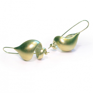 Ted Muehling <br>テッドミューリング/<br>GREEN GOLD PLATED  Snail Shells <br>NY発。自然の美をとじこめた大人のためのジュエリー