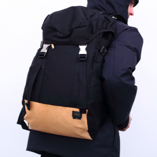 M.U.G(マグ) x<br>PORTER(ポーター) /<br>MUG Louis PC Backpack- Large<br>レザーとナイロンのコンビネーションが上品なリュック<img class='new_mark_img2' src='https://img.shop-pro.jp/img/new/icons50.gif' style='border:none;display:inline;margin:0px;padding:0px;width:auto;' />