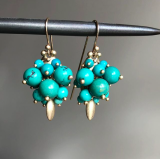 Ted Muehling <br>テッドミューリング/<br>Chinese Turquoise Bug <br>NY発。自然の美をとじこめた大人のためのジュエリー