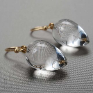 Ted Muehling <br>テッドミューリング/<br>CLEAR CRYSTAL ACORNS<br>NY発。自然の美をとじこめた大人のためのジュエリー