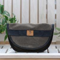 Wheelmen & co/ Chutney Hip-Bag - Brown+Black