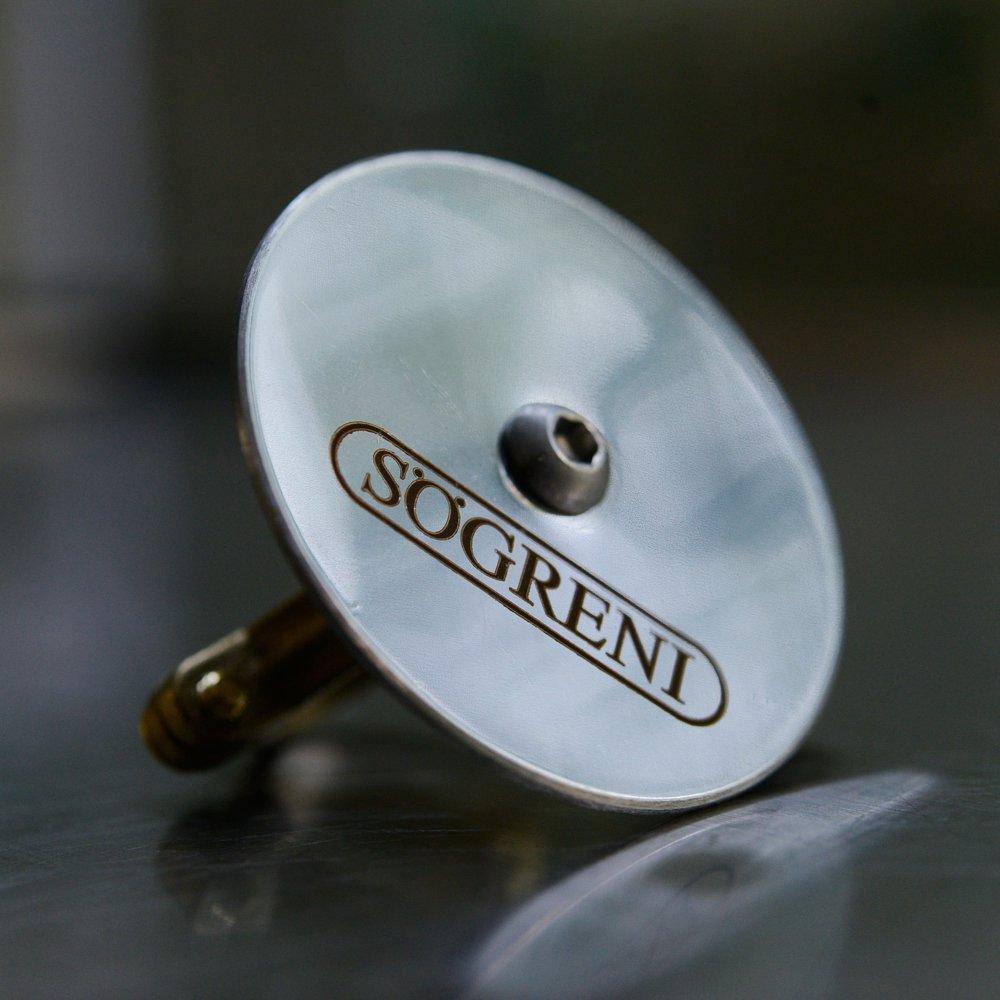 【木箱入り】SOGRENI / Bell /  Steel(鋼鉄)デンマーク発!一点一点ハンドメイドされる美しい音色のサイクル…