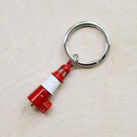 LED lighthouse keyring