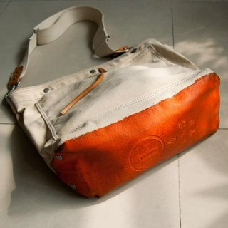 TEDDYFISH/ 2way bag- Tangerrine Orange