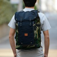 <img class='new_mark_img1' src='https://img.shop-pro.jp/img/new/icons39.gif' style='border:none;display:inline;margin:0px;padding:0px;width:auto;' />Wheelmen & co/ Babylon Backpack-Vintage Camo/Black