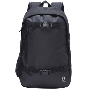 NIXON/SMITH � BACKPACK-BLACK<br>PC収納ができカジュアルにもビジネスにもOK<img class='new_mark_img2' src='https://img.shop-pro.jp/img/new/icons50.gif' style='border:none;display:inline;margin:0px;padding:0px;width:auto;' />