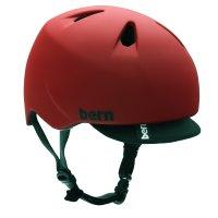 bern キッズサイクルヘルメット/ NINO - MT Red Visor(国内正規品)