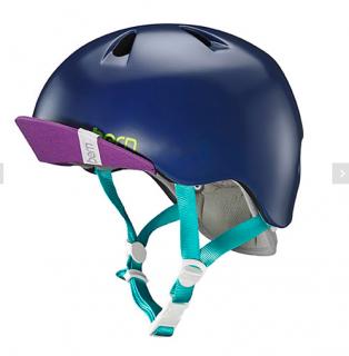 bern キッズサイクルヘルメット/ NINA - SATIN NAVY BLUE(国内正規品)