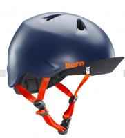 bern キッズサイクルヘルメット/ NINO - SATIN NAVY(国内正規品)