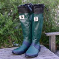 日本野鳥の会/ バードウオッチング長靴- GREEN