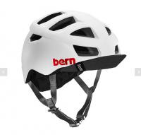 bern サイクルヘルメット/ ALLSTON - SATIN WHITE