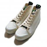 【spring court/スプリングコート】 B2 HEAVY TWILL スニーカー/WHITE/3173-2036(36〜39)