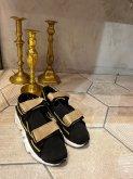 【RehersalL】velcro sneakers/23.0-24.5cm BEIGE[WG785]