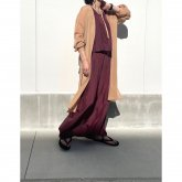 <img class='new_mark_img1' src='https://img.shop-pro.jp/img/new/icons1.gif' style='border:none;display:inline;margin:0px;padding:0px;width:auto;' />【hippiness】cupro layered one piece(dark purple)/ONEサイズ [H080026]