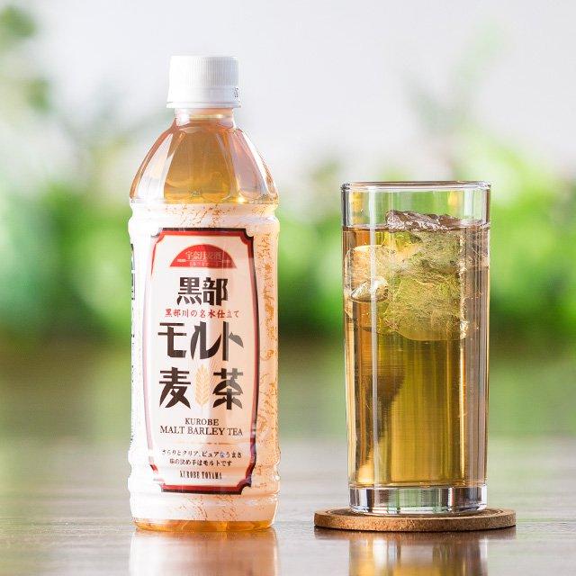宇奈月ビール:黒部名水モルト麦茶(500ml) 24本入り