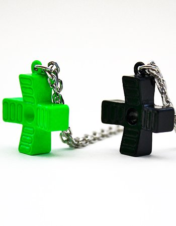 1/1CROSS-KEY NECKLACE