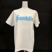 <img class='new_mark_img1' src='https://img.shop-pro.jp/img/new/icons1.gif' style='border:none;display:inline;margin:0px;padding:0px;width:auto;' />【Franklin】限定!Tシャツ <br>ホワイト/サックス ¥2200+税
