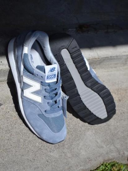 2472adc21fdbe New Balance / ニューバランス / M996 CHG / BLUE×SILVER. ※こちらの商品は別途送料¥540がかかります。