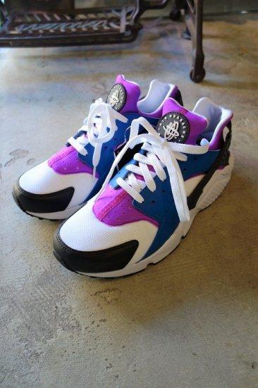 promo code c0314 ec13b NIKE / AIR HUARACHE / 318429-415 / blue Jay/ white/hyper violet/black