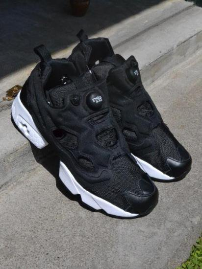Reebok   INSTA PUMP FURY OG V65750   BLACK×WHITE 4790b855f7