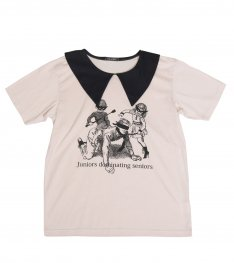 PUNISH COLLAR TEE