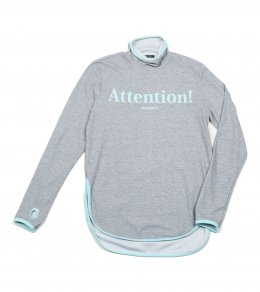 ATTENTION HIGH NECK TEE