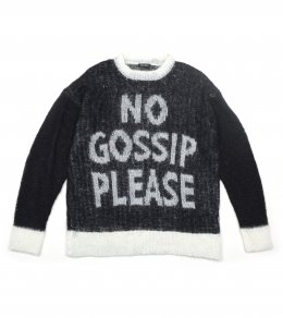 <img class='new_mark_img1' src='https://img.shop-pro.jp/img/new/icons2.gif' style='border:none;display:inline;margin:0px;padding:0px;width:auto;' />NO GOSSIP SWEATER