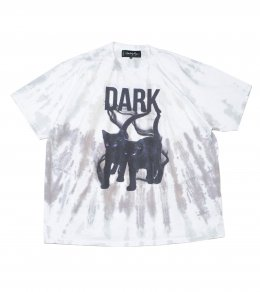 DARK CAT BLEACHED TEE