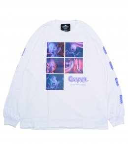 CASPER IN FILM L/S Tシャツ
