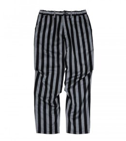 TUCKED STRIPED PANTS