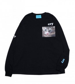 CAT CRY L.S. TEE