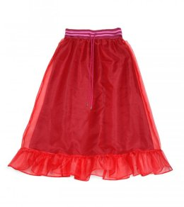 ウエストリブ オーガンジースカート