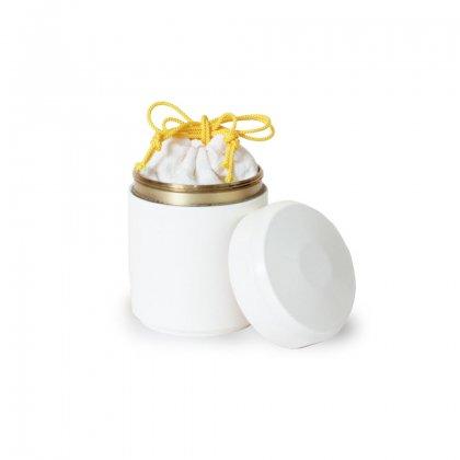 ミニ骨壷【なごみ/白-ホワイト-】