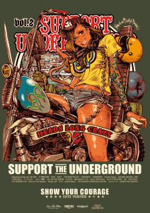 """SUPPORT THE UNDERGROUND Vol.3&q..."
