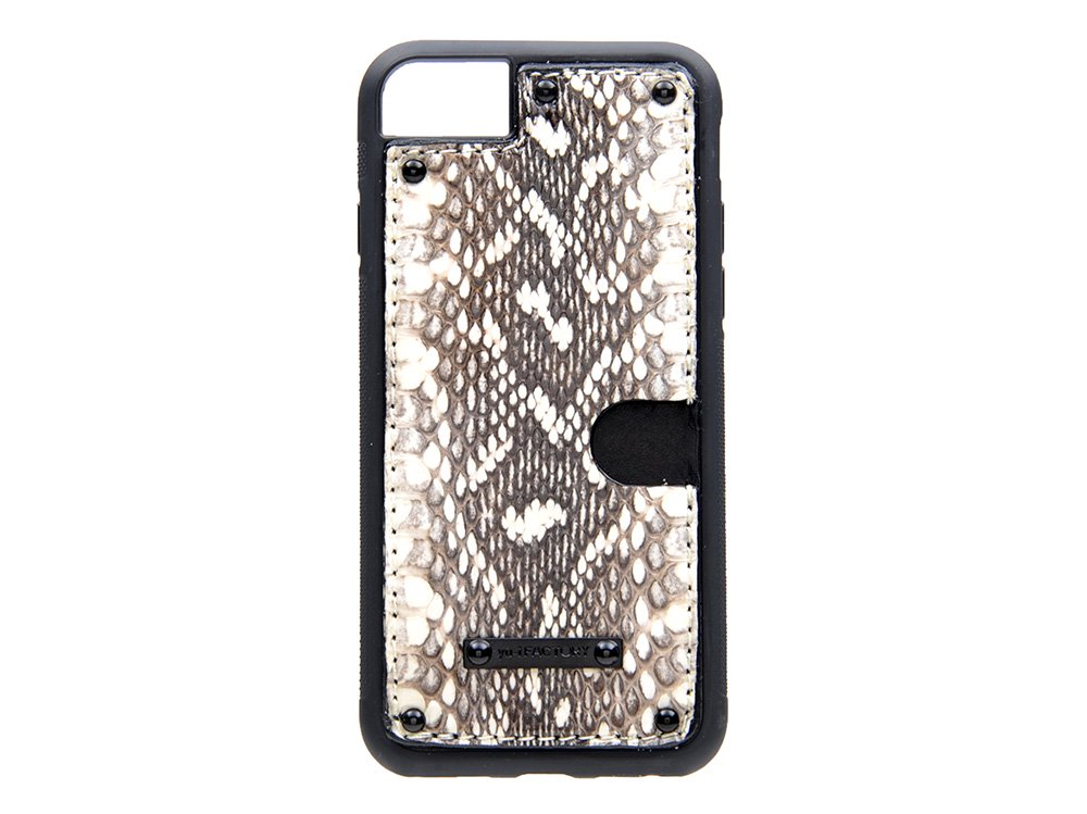 iPhone SE(2世代)・6・7・8 カード ケース ムルカ/ブラック