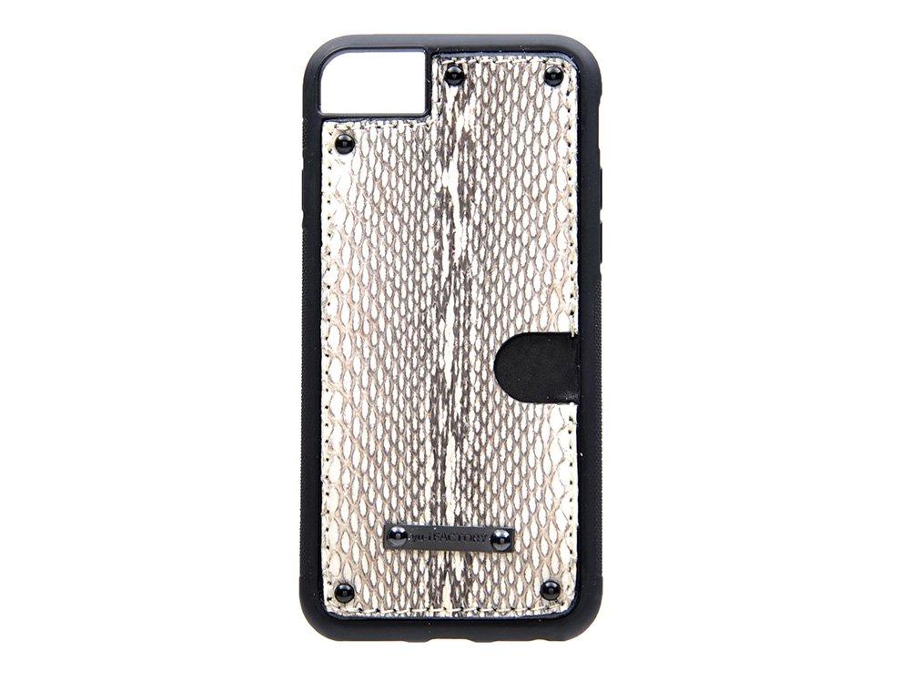 iPhone SE(2世代)・6・7・8 カード ケース クメハブ/ブラック