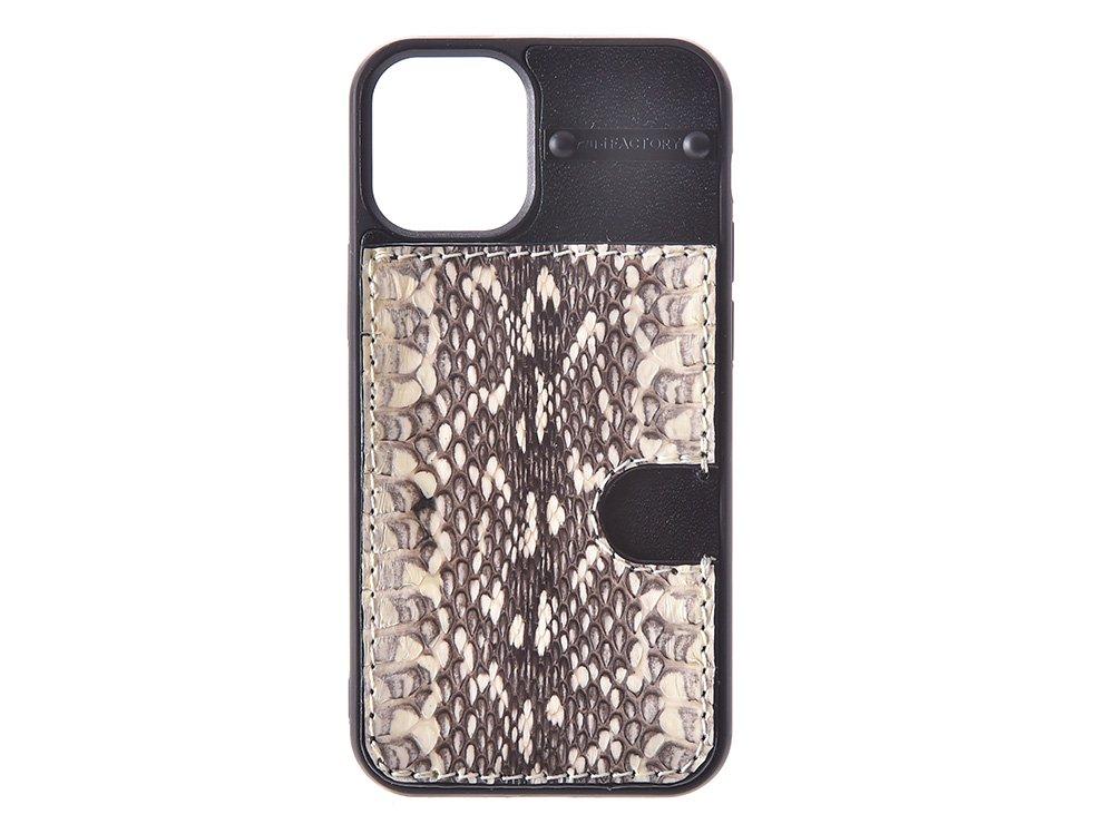 iPhone12 mini カード ケース ムルカ/ブラック