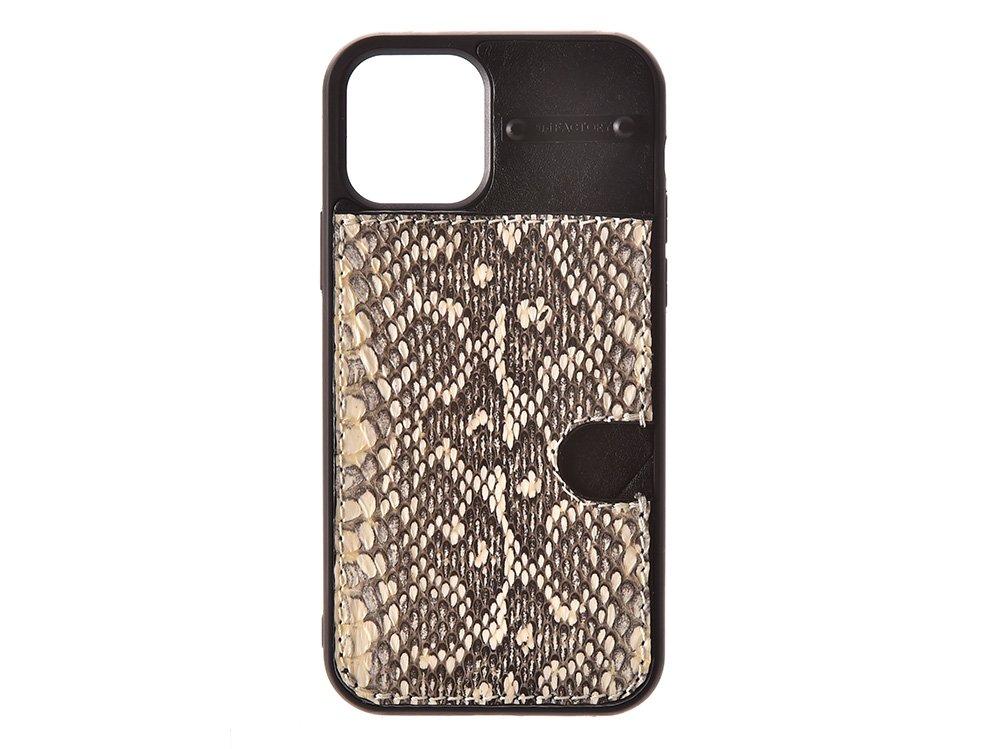 iPhone12 ・12pro  カード ケース ムルカ/ブラック