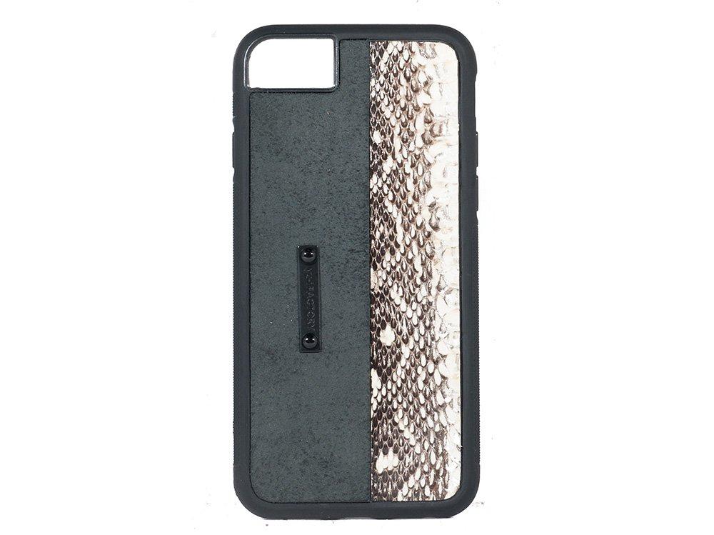 iPhone SE(2世代)・6・7・8 ケース クガニ/ブラック