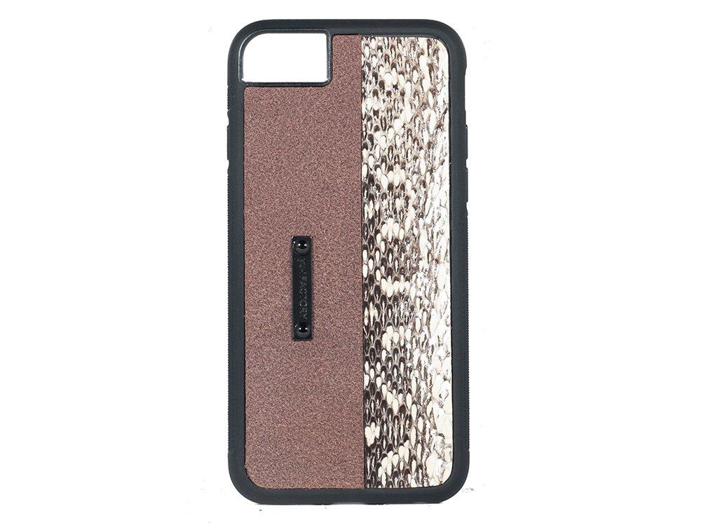iPhone SE(2世代)・6・7・8 ケース クガニ/ブラウン
