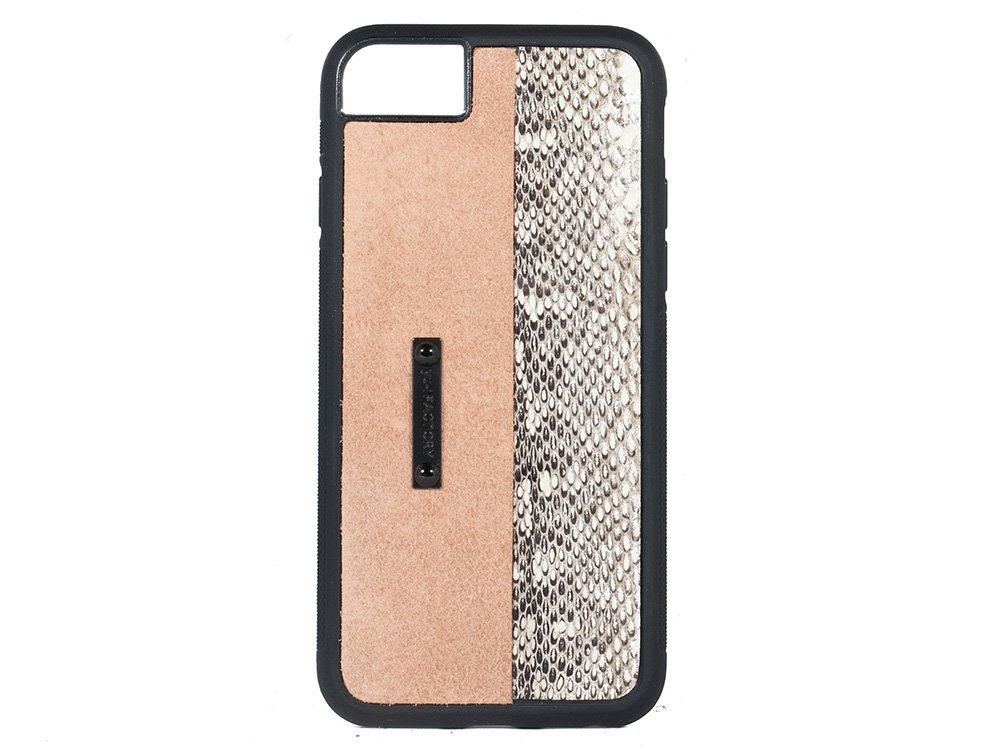iPhone SE(2世代)・6・7・8 ケース クガニ/キャメル